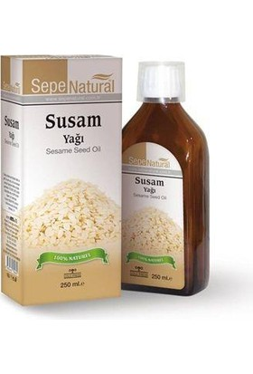 Sepe Natural Sepe Natural Susam Yağı 250Ml | Sesame Seed Oil | Sesamum İndicum Oleu