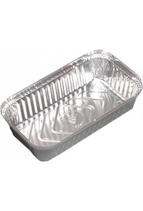 San Alüminyum Kase+Kapak 100/L 500 Gr 1000 Adet (10 Paket)