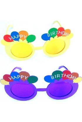 Partypark Doğum Günü Parti Gözlüğü-Lila