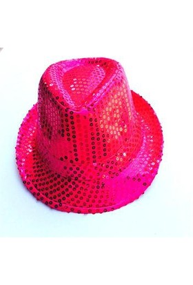 Partypark Parlak Parti Şapkası-Pembe