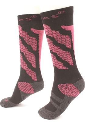 2AS - Thermolite Kayak Çorabı Gri