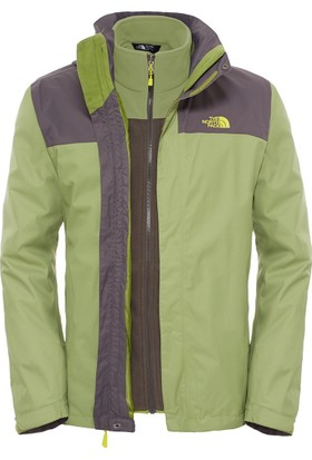 The North Face M Evolve II Triclimate Erkek Mont Yeşil
