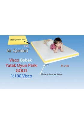 Air Comfort Bebek Yatak-Oyun Parkı Gold 60x180