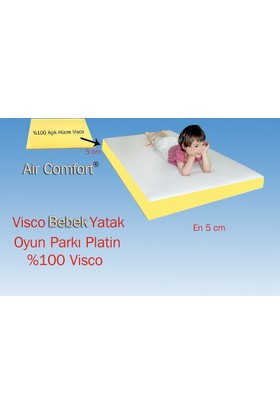 Air Comfort Bebek Yatak-Oyun Parkı Platin 50x120