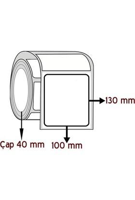 Barkodsarf Lamine Termal 130 mm x 100 mm Barkod Etiketi Çap 40 mm (6 Rulo)