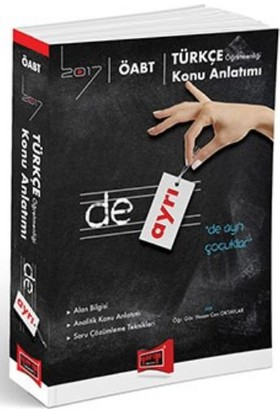 Yargı Yayınevi Öabt 2017 De Ayrı Türkçe Öğretmenliği Konu Anlatımı