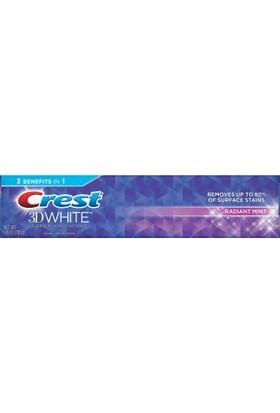 Crest 3d radiant mint 6.4 oz diş macunu 181 gr