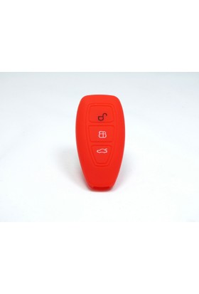 Gsk Ford Focus Anahtar Kabı Kılıfı Start Stop Model (Kırmızı)