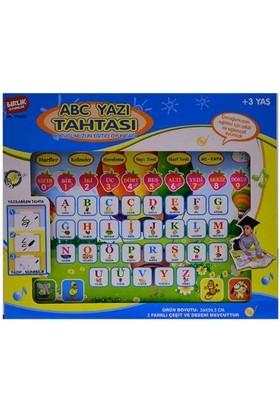 Kayıkcı Birlik Oyuncak Eğitici Abc Yazı Tahtası Türkçe Pembe Renk