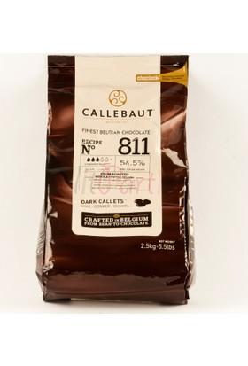 Callebaut Damla Bitter Çikolata 2.5 Kg