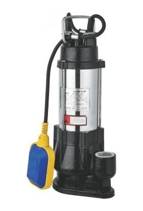 Duffmart V750F Pis Su Foseptik Parçalayıcılı Açık Fanlı Dalgıç Pompa