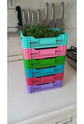 Weblonya Plastik Kasa Mutfak Rafı Dolap İçi Düzenleyici