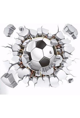 Modakedi Futbol Topu Gol 3 Boyutlu Duvar Stickerı
