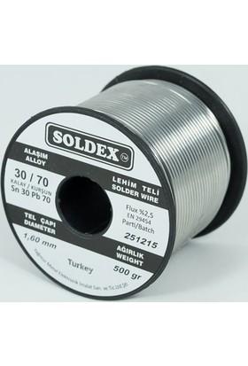 Soldex 1.6 Mm 200 Gr Lehim Teli Sn30 Pb70