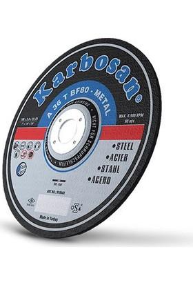 Karbosan Metal (Nk) Kesme Diski 115X3.0X22.23 (10'Lu)