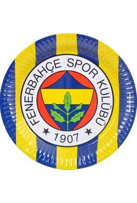 Elitparti Fenerbahçe Lisanslı Tabak (8 Adet)