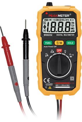 Peakmeter MS 8232 Ölçü Aleti