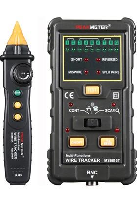 Peakmeter MS 6816 Kablo Test Aleti