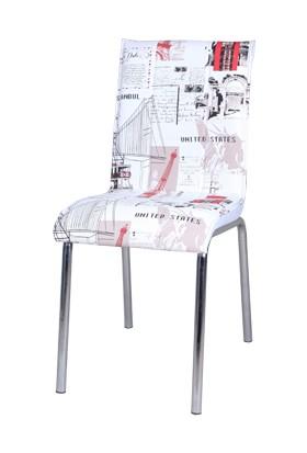 Osmanlı Mobilya 4 Adet Pedli Sandalye Dünya