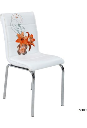 Osmanlı Mobilya 6 Adet Pedli Sandalye Sedef