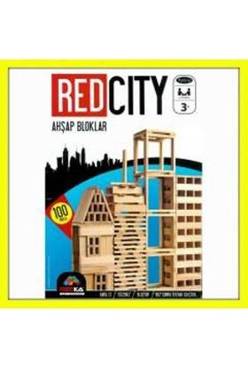Redka Red City Ahşap Blokları