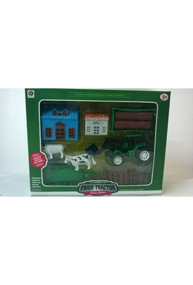 Mingri Toys Traktörlü Çiftlik Seti