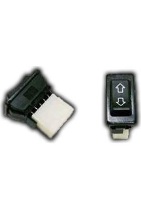 Nettedarikcisi Cam Anahtarı Düğmesi Universal Oklu