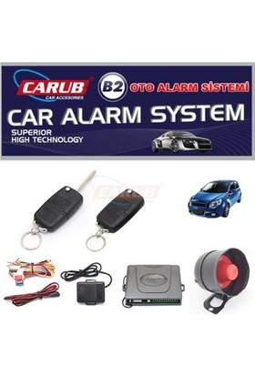 Carub Oto Alarmı B2 Kumandalı Sustalı