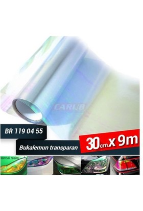 Carub Far-Stop Filmi Bukalemun 30Cmx9M Transparan