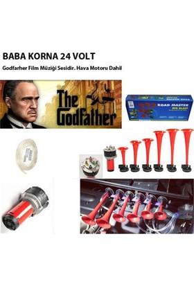 Nettedarikcisi Baba Korna Havalı 6 Borulu 24 Volt Godfather