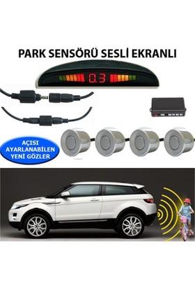 Nettedarikcisi Park Sensörü Ekranlı Ses İkazlı Gri Sensör