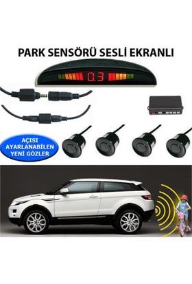 Nettedarikcisi Park Sensörü Ekranlı Ses İkazlı Siyah Sensör