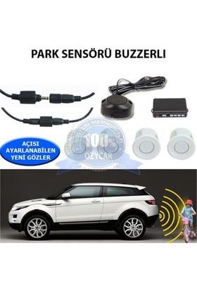 Nettedarikcisi Park Sensörü Ses İkazlı Buzzerlı Beyaz Sensör