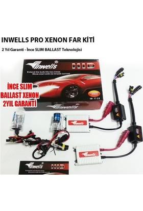 İnwells H1 4300K Xenon Far Kiti Pro 12 V