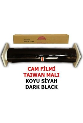 Nettedarikcisi Cam Filmi Normal %15 Koyu Siyah ( Dark Black ) 152Cm * 60M