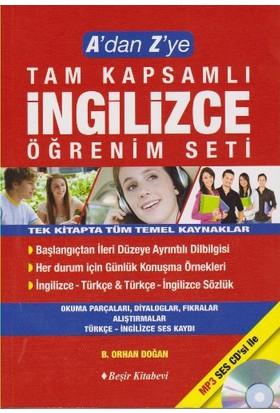 A'Dan Z'Ye Tam Kapsamlı İngilizce Öğrenim Seti - B.Orhan Doğan