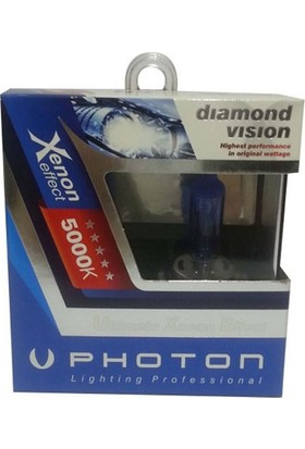 Photon Ampul H7 12V 55W Diamond Vision 5000K