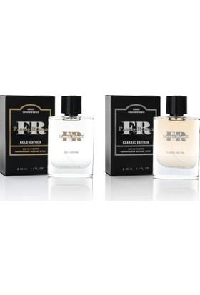 Fabrıo&Romeo Classıc 50Ml+Gold 50Ml Çekici Edp Erkek Parfüm Set