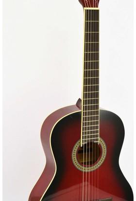 Nevada Klasik Gitar AC-965RB Ladin Kapak Kırmızı