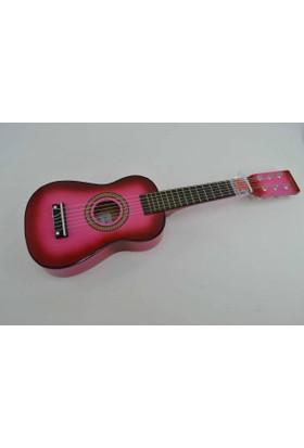 Çocuk Gitarı Ahşap Pembe U202-PK Gonzales
