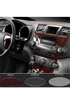 Nettedarikcisi Opel Corsa C 2005 Sonrası Torpido Kaplaması 7 Parça Karbon