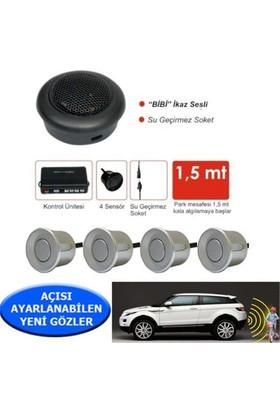 Nettedarikcisi Ozy Park Sensörü Ses İkazlı Buzzerlı Gri Sensörlü