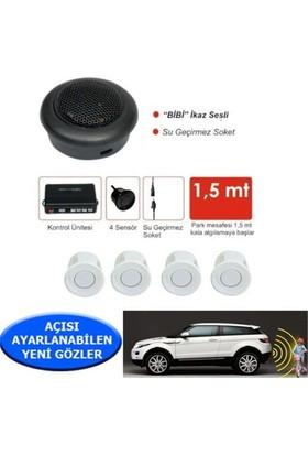 Nettedarikcisi Ozy Park Sensörü Ses İkazlı Buzzerlı Beyaz Sensörlü