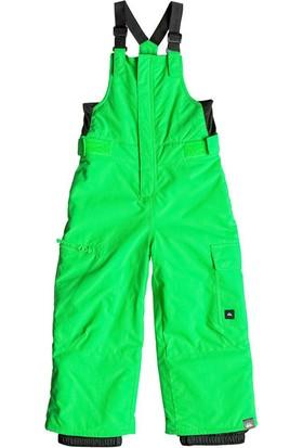 Quiksilver Boogie Bib Çocuk Kayak Ve Snowboard Pantolonu Yeşil