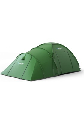 Husky Boston 5 Kişilik Yeşil Kamp Çadırı