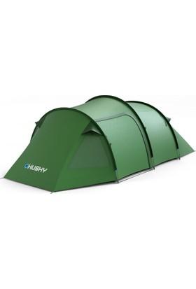 Husky Bromer 4 Kişilik Yeşil Kamp Çadırı