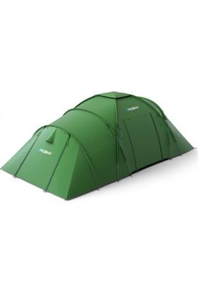 Husky Boston 6 Kişilik Yeşil Kamp Çadırı