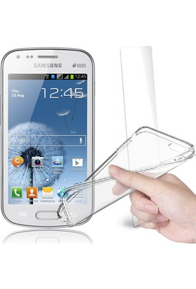 Fuqqa Samsung Galaxy Grand Neo (9082) Ekran Koruyucu Filmi + Silikon Kılıf