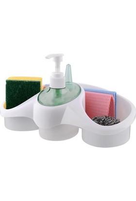 Helen's Kitchen Sünger Hazneli Sıvı Sabunluk