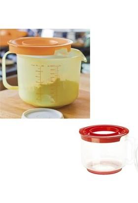 Helen's Kitchen Özel Koruma Kapaklı Sıçratmayan Mikser Kabı (2lt)